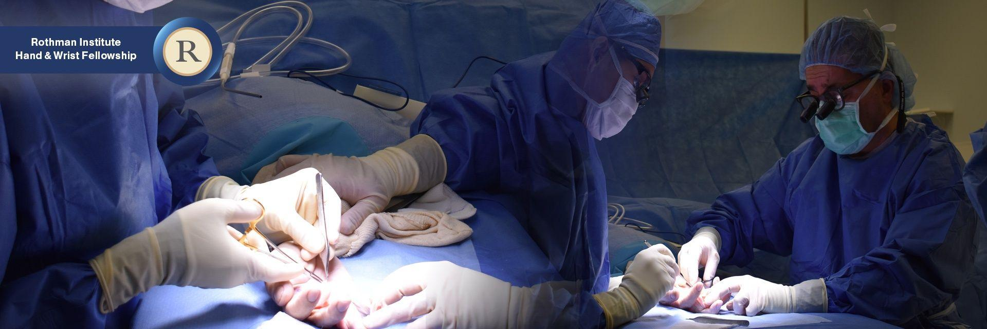 Hand and Upper Extremity Surgery Fellowship | Rothman