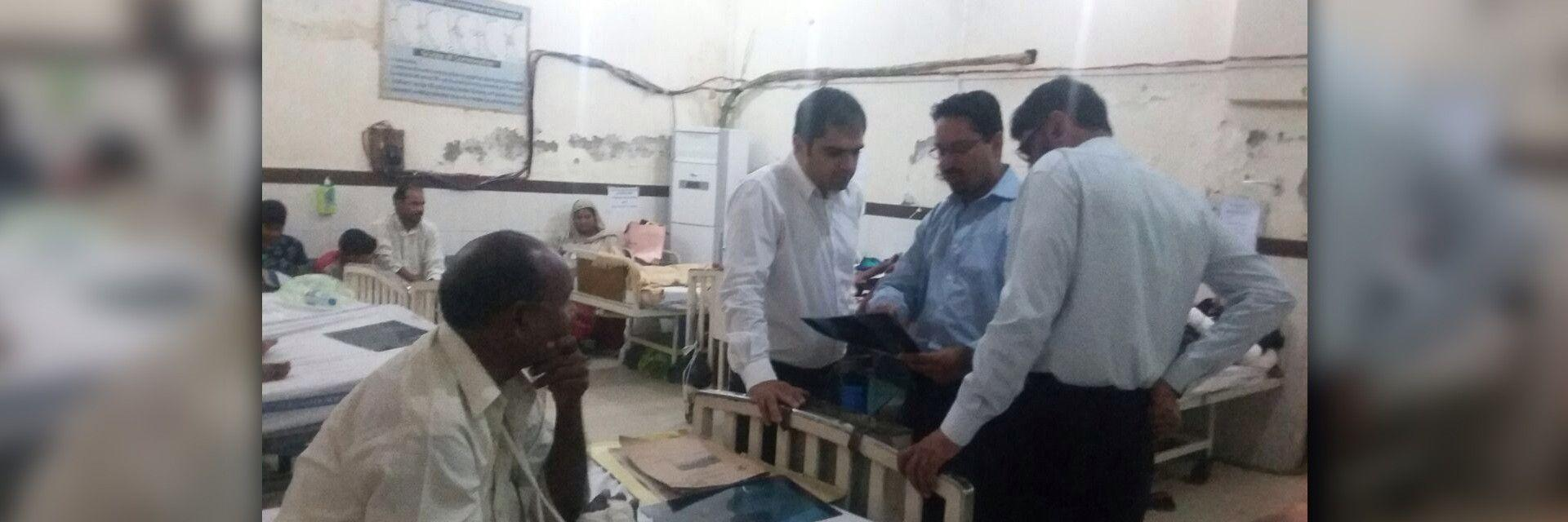 Helping Hand - Dr. Ilyas's Visit to Pakistan