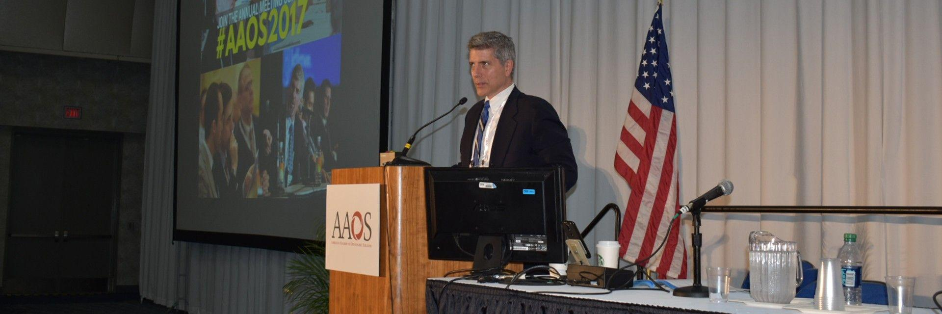 AAOS: Dr. Vaccaro, Program Chair