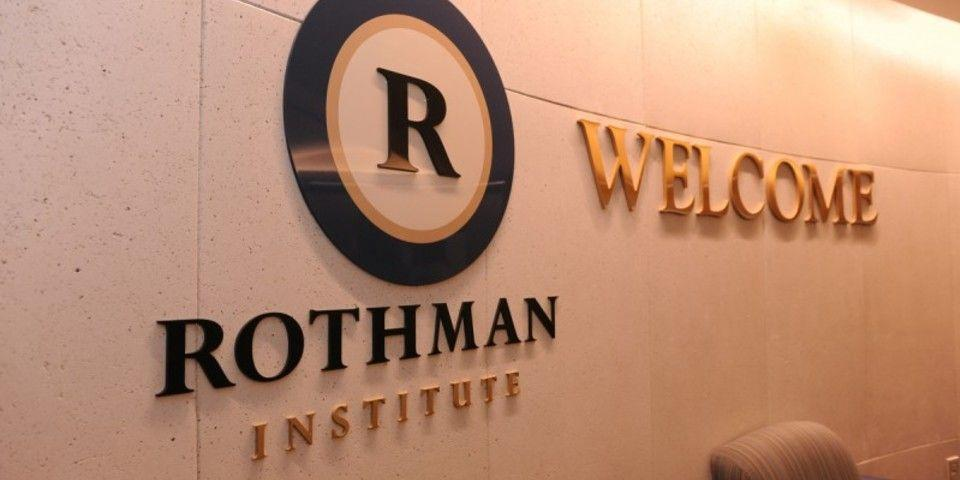 Lobby of the new Rothman Institute office at Marlton, NJ